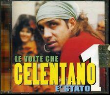 CD- ADRIANO CELENTANO- LE VOLTE CHE CELENTANO E' STATO---- SONY MUSIC- 2003 ZCD5