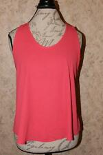 Elodie Women's Pink Large Cutout Tank Top