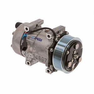 NEW AC A/C Compressor Fits: 2004 - 2015 Ford F650 / F750 L6 & V8 Diesel