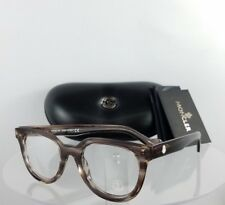 Brand New Authentic Moncler Eyeglasses ML 5005 081 47mm Brown Clear Frame