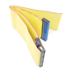 60cm ATA 133/100/66 IDE 40 pin (80 Wire) HDD Flat Ribbon Cable w/ 3 Connectors