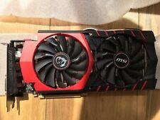 MSI NVIDIA GeForce GTX 970 (4096 MB) (GTX 970 GAMING 4G) Graphics Card FAULTY