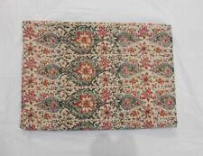 Handmade Indian Blanket Queen Size Blanket Kantha Throw Quilt Bedcver