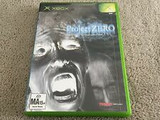 Xbox Original - Project Zero  (Fatal Frame) Survival Horror Game