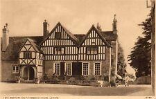 LACOCK Wiltshire 15th Century Half-Timbered House - Original Postcard (HHH)