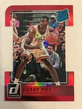 2015-16 Donruss Bobby Portis Rated Rookie RC Aspirations Die-Cut Red #d/95 BULLS