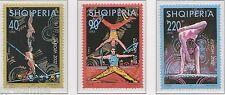 2002 Albanië 2866-2868 Europa CEPT - Het Circus
