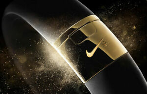 NEW No Box Nike Special Limited Edition Gold Color Black Fuelband SE USA Soccer
