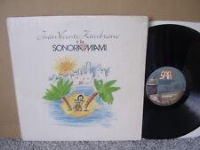 JUAN VICENTE ZAMBRANO Y LA SONORA MIAMI Orig SAR '92 LP US Latin SALSA Shr rare!