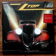 ZZ Top - Eliminator LP [Vinyl New] Limited Edition Red Color LP Rhino Rocktober
