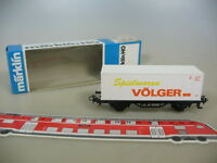 M484-0,5# Märklin/Marklin H0 Containerwagen, Spielwaren Völger, DB, TOP+OVP