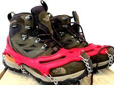 MEN'S NORTH FACE HIKING BOOTS - GORTEX - VERBERA HIKER GTX size 9 - worn once!!!