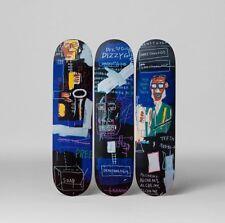 The Skate Room X Basquiat Horn Players 3 Decks