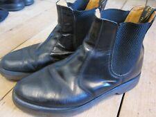 Men's Dr. Martens 2976 Smooth Leather Chelsea Boots Black Size UK 9 EU 43