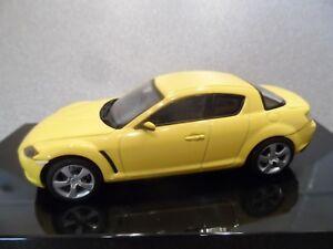 Auto Art  55921  1:43 MAZDA RX-8 SPORTS CAR..Lightening Yellow!
