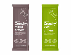 Crunchy Critters edible insects bugs Mixed Critters & Kid's critters x 2 packs