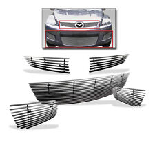 2007 2008 2009 MAZDA CX-7 SUV TOP UPPER + LOWER BILLET GRILLE GRILL INSERT COMBO