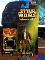 """Star Wars The Power of the Force Bespin Han Solo Freeze Frame """"BRAND NEW"""" POTF"""