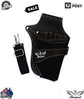 Professional Barber Scissors Holster Hairdressing Holder Pouch Leather waist bag