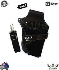 Professional Barber Scissors Holster Hairdressing Holder Pouch Leather waist bag