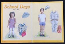 School Days Paper Doll by Kathy Pollak, Mag. Pd. 2002