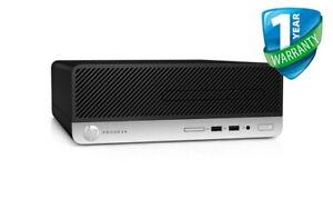 HP ProDesk 400 G4 SFF Core i5 7th Gen 4GB 8GB RAM 500GB HDD Windows 10 Pro