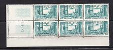 TUNISIE 1959 Y&T N°468 6 timbres neufs sans charnière coin daté 9.3.59 /KRT20