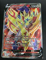 Zamazenta V FULL ART ULTRA RARE 196/202 Pokemon Sword & Shield Base Set NM 2020