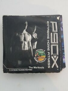 P90X Extreme Home Fitness The Workouts 12 DVD  Set