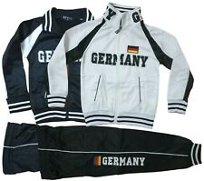 Kinder Jogginganzug Trainingsanzug Sportanzug Jacke Hose Jungen Mädchen Germany