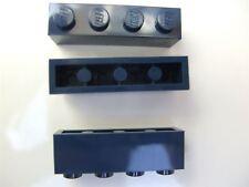 3 x Lego Earth Blue rectangular bricks (size 1x4) – 4264569 (Parts & Pieces)
