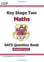 KS2 Maths Targeted SATs Question Book - Standard by CGP Books, NEW Book, FREE &