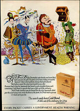 Benson & Hedges Cigarettes 1972 Magazine Advert #17741