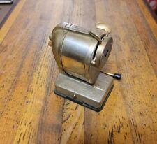 VINTAGE Tools PENCIL SHARPENER Boston VACUUM Retro Desk Office Equipment ☆USA