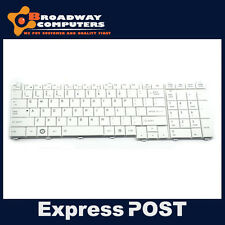 Keyboard for TOSHIBA Satellite C650 C650D C655 C660 C660D L650 L650D , White