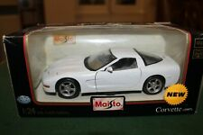 Maisto 1.24 Corvette 1997 in White
