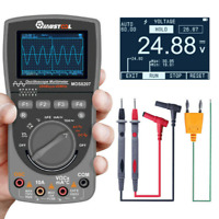 2 in1 MUSTOOL MDS8207 40MHz 200Msp Digital Oscilloscope Multimeter Scopemeter
