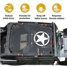Jeep Wrangler Mesh Shade Top Sunshade UV Protection Accessory For Jeep Wrangler