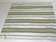 "Charter Club Green White Stripe Euro 26"" Sq Pillow Sham 100% Cotton Percale"