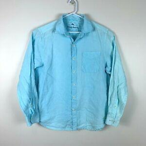 Tommy Bahama Linen Long Sleeve Shirt (US Size) Size Men's Medium