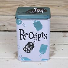 The Bright Side Receipts Tin - Receipt Tin- For Money I used to Have - Novelty