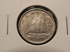*1949* TEN CENTS  CANADA    NICE SILVER COIN