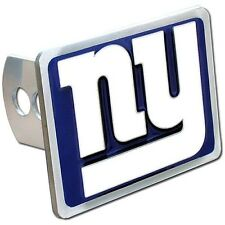 New York Giants Rectangle Logo Trailer Hitch Cover ~ New