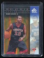 2006-07 Reflections Gold #122 Mardy Collins RC - #d 153/299 New York Knicks