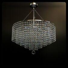 Lead Crystal Chandelier chandlier Chandalier Ceiling Light Lamp Chrome ITPL50/L