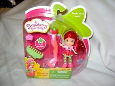 2010 Strawberry Shortcake Scented Mini Doll w Hair Extension MIP Sealed NEW