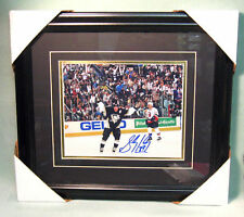 SYDNEY CROSBY, Hand-Signed & Gallery Framed Photo, with COA