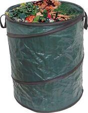 More details for pop up garden bin heavy duty bag waste rubbish leaves bag sack handles large new