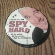 LESLIE NIELSEN SPY HARD MOVIE PROMOTION PIN