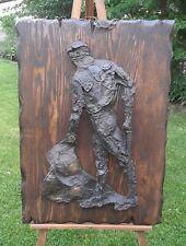 "Vintage Finesse Originals Toreador  Brutalist Style Sculpture, 25.5"" x 35.5"""